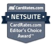 CardRates.com Editor's Choice Award