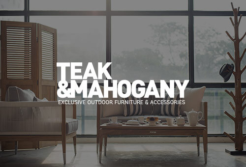 Teak and Mahogany