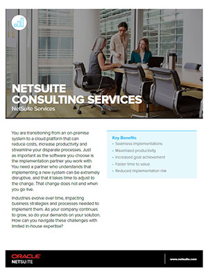 NetSuite Consulting Services